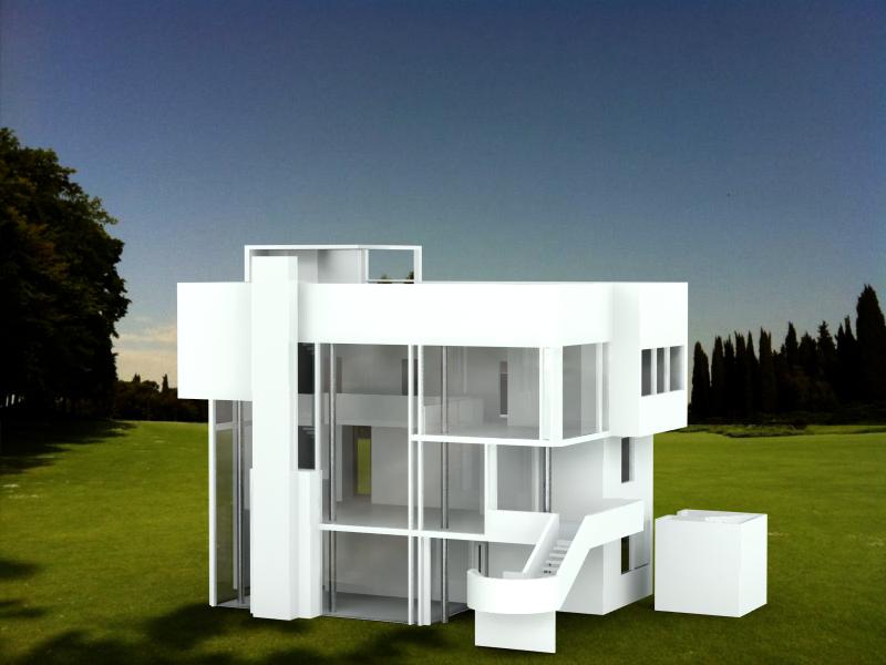 Meier richard smith house for Richard meier architetto
