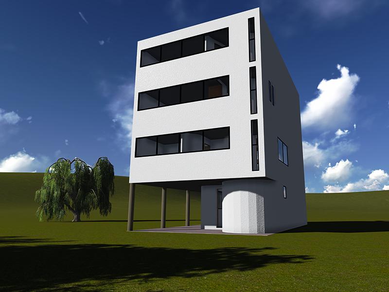 Le corbusier casa weissenhof - Le corbusier casas ...