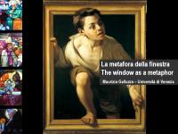 La metafora della finestra maurizio galluzzo for Finestra antica aperta